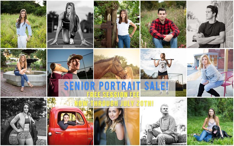 Senior Portraits over the years